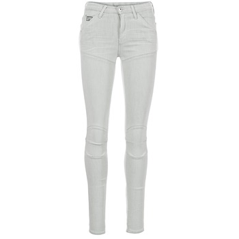 textil Dam Skinny Jeans G-Star Raw 5621 ULTRA HIGH SUPER SKINNY WMN Grå