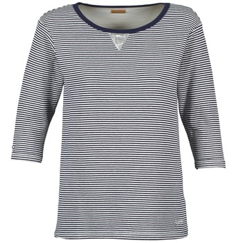textil Dam Sweatshirts Napapijri BOISSERON Marin / Vit