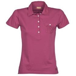 textil Dam Kortärmade pikétröjor Napapijri EZE Rosa