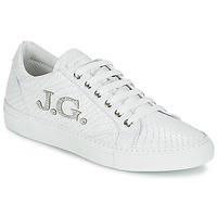 Skor Dam Sneakers John Galliano 7977 Vit