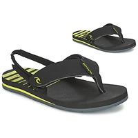 Skor Barn Flip-flops Rip Curl THE ONE GROMS Svart / Gul