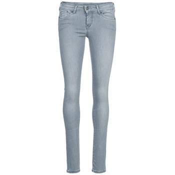 textil Dam Stuprörsjeans Pepe jeans PIXIE Grå / Q81