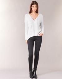 textil Dam Stuprörsjeans Pepe jeans SOHO S98 / Svart