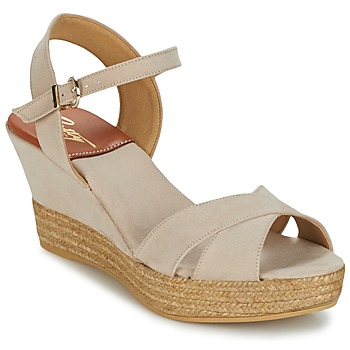 Skor Dam Sandaler Betty London TECHNO Beige
