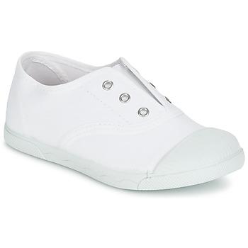 Skor Flickor Sneakers Citrouille et Compagnie RIVIALELLE Vit