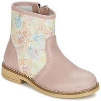 Skor Flick Boots Citrouille et Compagnie OUGAMO LIBERTY Rosa / Flowercolor