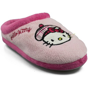 Skor Flickor Tofflor Hello Kitty KAMELLE ROSA