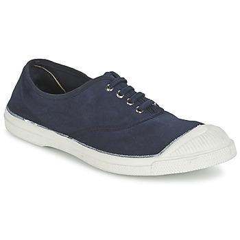 Skor Dam Sneakers Bensimon TENNIS LACET Marin