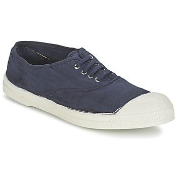 Skor Herr Sneakers Bensimon TENNIS LACET Marin
