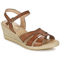 Skor Dam Sandaler So Size ELIZA Brun