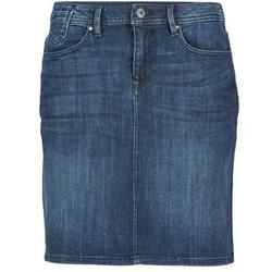 textil Dam kjolar Esprit MAFGA Blå