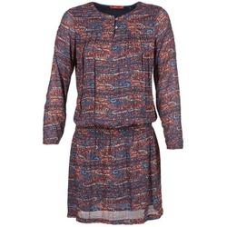textil Dam Korta klänningar Esprit AGAROZA Marin / Flerfärgad