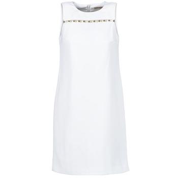 textil Dam Korta klänningar MICHAEL Michael Kors MS68W2L3GZ Vit