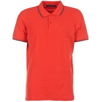 textil Herr Kortärmade pikétröjor Best Mountain GULTANE Röd