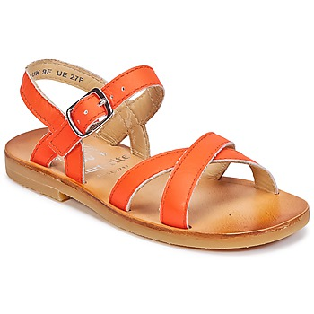 Skor Flick Sandaler Start Rite NICE II Orange