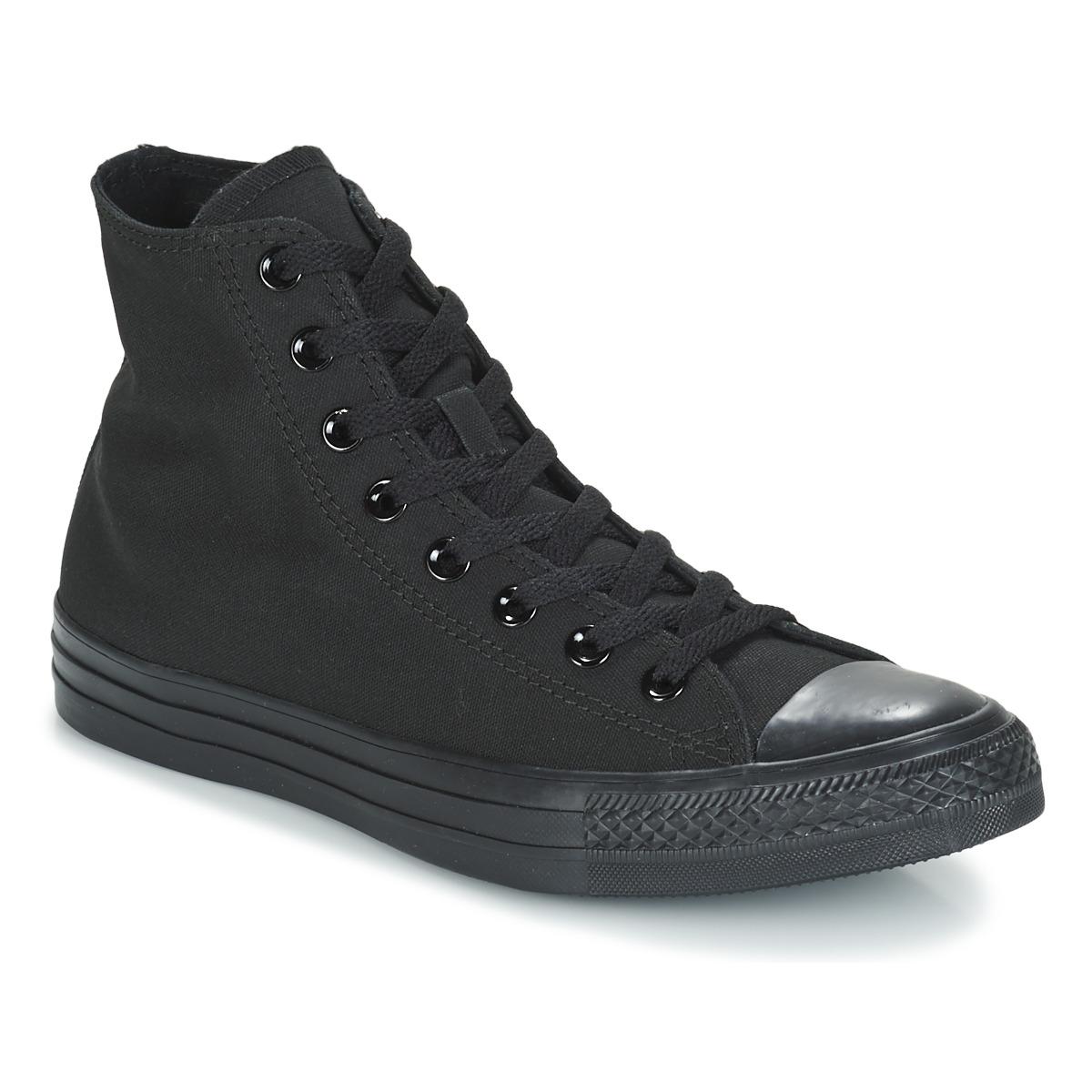 nike svarta höga sneakers för kvinnor
