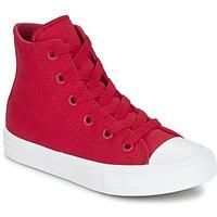 Skor Barn Höga sneakers Converse CHUCK TAYLOR All Star II HI Röd