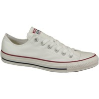 Skor Dam Sneakers Converse C. Taylor All Star OX Optical White  M7652