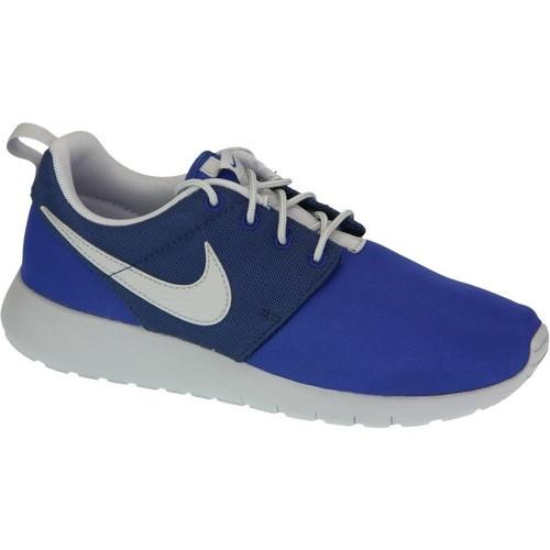 Skor Pojk Sneakers Nike Roshe One Gs 599728-410 Blue