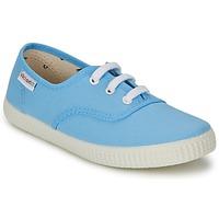 Skor Sneakers Victoria INGLESA LONA Blå