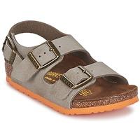 Skor Barn Sandaler Birkenstock MILANO Mullvadsfärgad