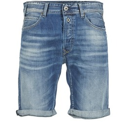 textil Herr Shorts / Bermudas Replay SHORT 901 Blå / 009