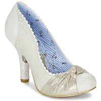 Skor Dam Pumps Irregular Choice SMARTIE PANTS Vit