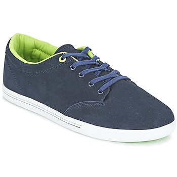 Skor Herr Sneakers Globe LIGHTHOUSE SLIM Marin / Gul