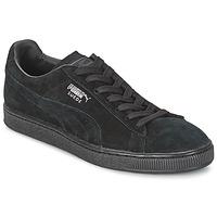 Skor Sneakers Puma SUEDE CLASSIC Svart / Grå