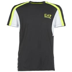 textil Herr T-shirts Emporio Armani EA7 VENTUS7 Svart