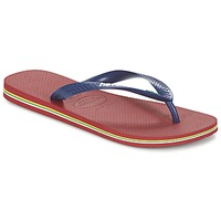 Skor Flip-flops Havaianas BRASIL LOGO Marin / Röd