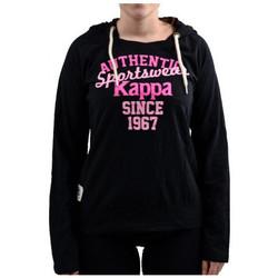 textil Dam Sweatshirts Kappa  Svart