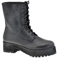 Skor Dam Boots F. Milano  Svart