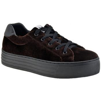 Skor Dam Sneakers F. Milano  Brun