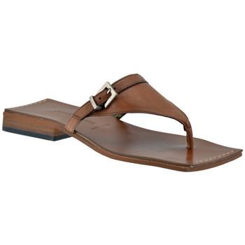 Skor Dam Flip-flops Janet&Janet  Brun