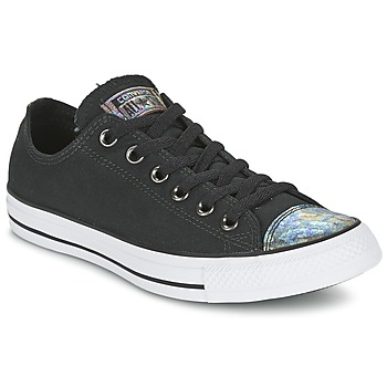 Skor Dam Sneakers Converse ALL STAR OIL SLICK TOE CAP OX Svart