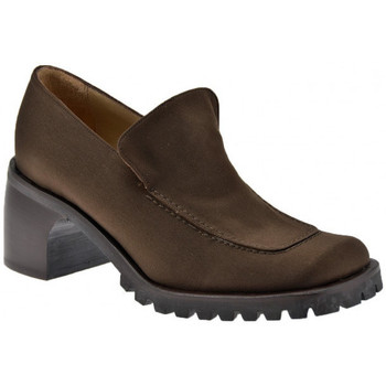 Skor Dam Loafers Now  Brun