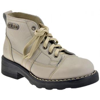 Skor Dam Boots Tks  Vit