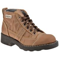 Skor Dam Boots Tks  Beige
