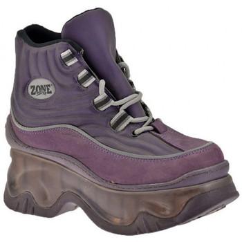 Skor Dam Höga sneakers Zone  Violett