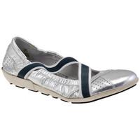 Skor Dam Ballerinor OXS  Silver