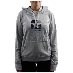 textil Dam Sweatshirts Converse  Grå