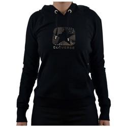 textil Dam Sweatshirts Converse  Svart