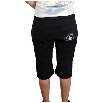 textil Dam Shorts / Bermudas Converse  Svart