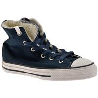 Skor Barn Höga sneakers Converse  Blå