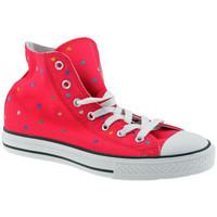 Skor Flickor Höga sneakers Converse  Rosa