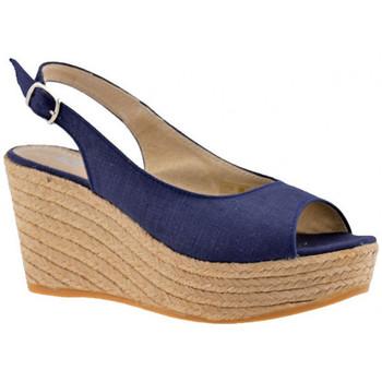 Skor Dam Sandaler Keys  Blå