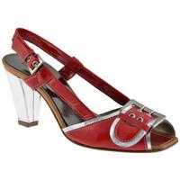 Skor Dam Sandaler Progetto  Röd