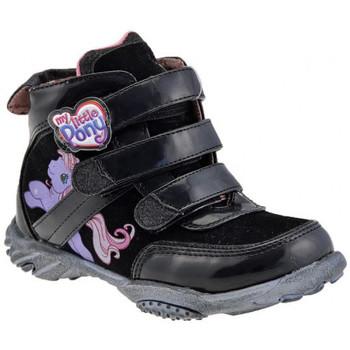 Skor Barn Höga sneakers Dessins Animés  Svart