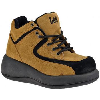 Skor Dam Höga sneakers Lee  Beige